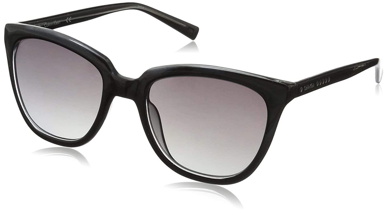 Calvin Klein Women's R711s R711S-001 Cateye Sunglasses
