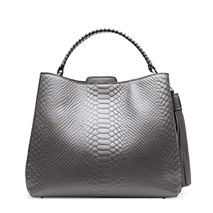 dbff2621ef14 Image Unavailable. Image not available for. Color  Women s Bag PU European  And American Style Ladies Bag Big Bag Handbag Shoulder Messenger ...