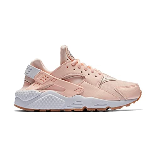 best cheap bd31d fc750 Zapatillas Nike - Wmns Air Huarache Run Rosa Blanco Caramelo Talla  44   Amazon.es  Zapatos y complementos