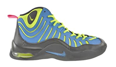 ca7fe029d706 Amazon.com  Grade-School Nike Air Bakin Photo Blue Volt Black-316759 ...