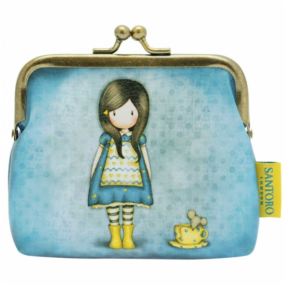 Santoro Gorjuss 10 cm Clasp Purse Little Friend
