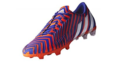 ... usa adidas predator instinct fg soccer cleat solar red purple sz. 7.5  84ea4 8beff 806392700fc