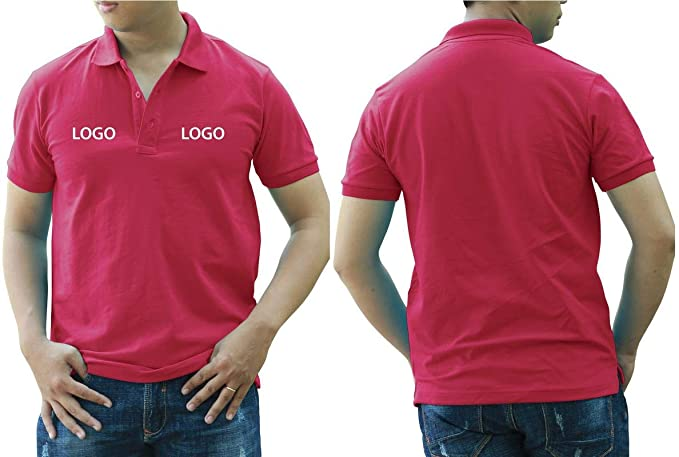 c4fd965ae Add Your Logo Text Design Image Picture. Custom Polo. Personalized Polo.  Embroidered On