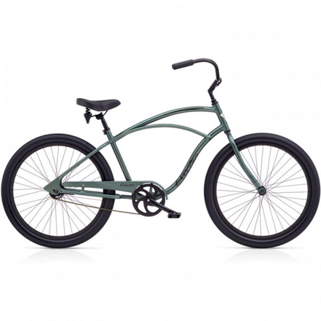 【 CRUISER LUX 3i MENS ELECTRA CYCLE@64800 】 クルーザー LUX 3i エレクトラ バイク メンズ自転車 サイクル B07C1PJPP8 Anthracite Anthracite