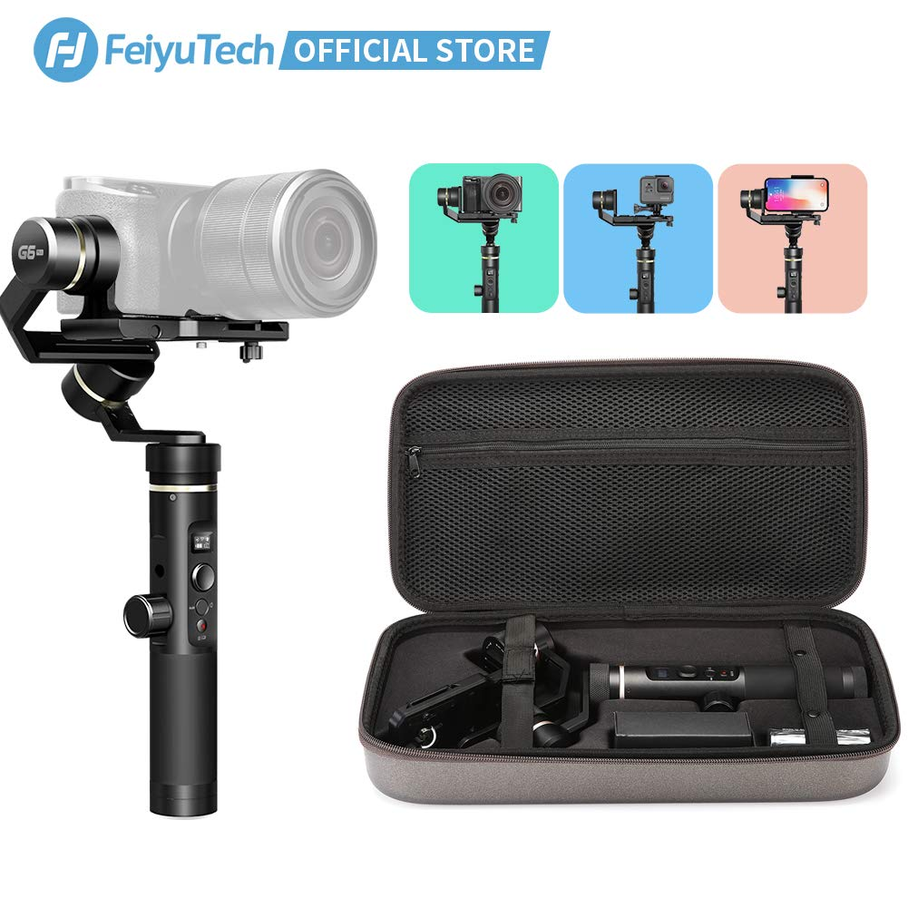 FeiyuTech Vimble 2S Extensible Handheld Gimbal Stabilizer 3-Axis with Extension Pole One Key Orientation Toggle Dolly Zomm Motion Time-Lapse