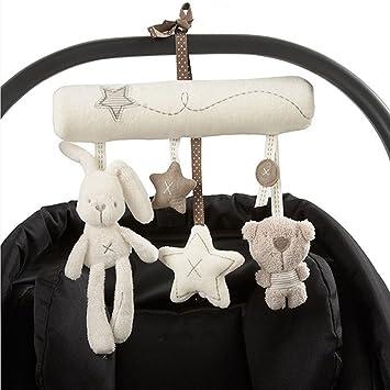 Plüsch Spielzeug Spirale Einschlafhilfe für Kinderbett Kinderwagen Baby Bett !