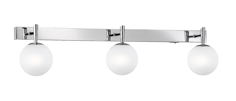 Trio-Leuchten 8801231-06 Applique salle de bain 40 watts Blanc