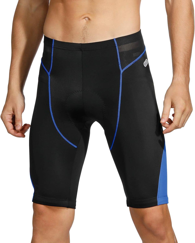 INBIKE Pantalones Cortos De Ciclismo para Hombre Short con Almohadilla De Esponja De Verano