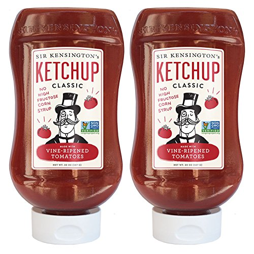 Sir Kensington's Classic Ketchup 20 oz, 2 Pack