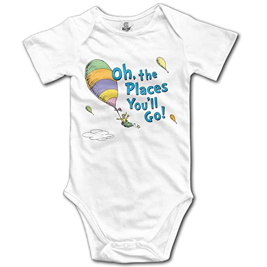 343159d00 Amazon.com: Unisex Oh, The Places You'll Go! Baby Onesies Outfits ...