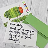 british party invitations - Kids Birthday Party Supplies & Decorations Party Thank you Cards Eric Carle Very Hungry Caterpillar 24 Count