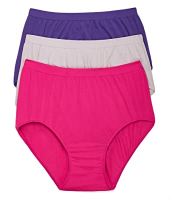 bcea9a1227e Comfort Revolution Brief 3-Pack at Amazon Women s Clothing store