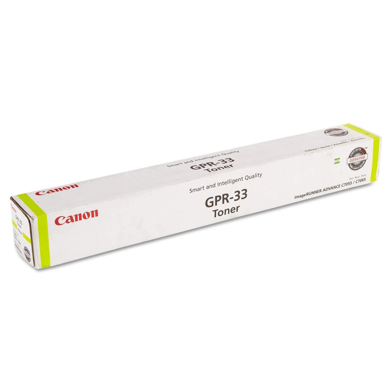 Canon GPR-33Y 2804B003AA ImageRunner Advance C7055 C7065 C7260 C7270 Toner Cartridge (Yellow) in Retail Packaging
