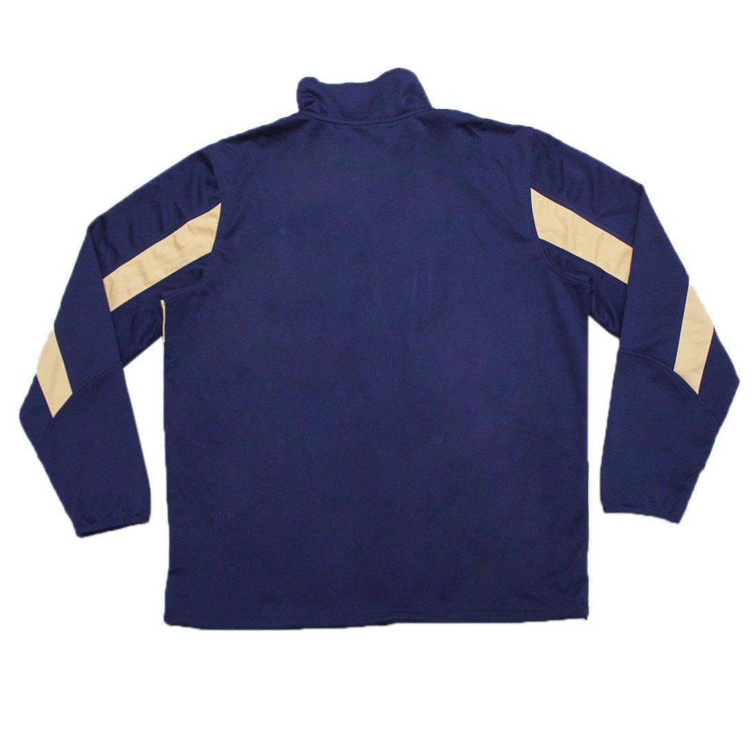 Big & Tall mil Brewers Mens atlético con cremallera chaqueta de ...