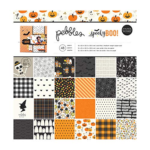 Paper Crafts For Halloween (Pebbles 733914 12