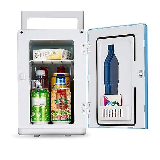 XHX Caja refrigeradora, mini nevera de 10L de bajo consumo y ...