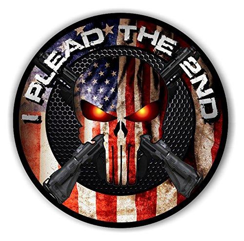 2nd amendment punisher sticker / decal