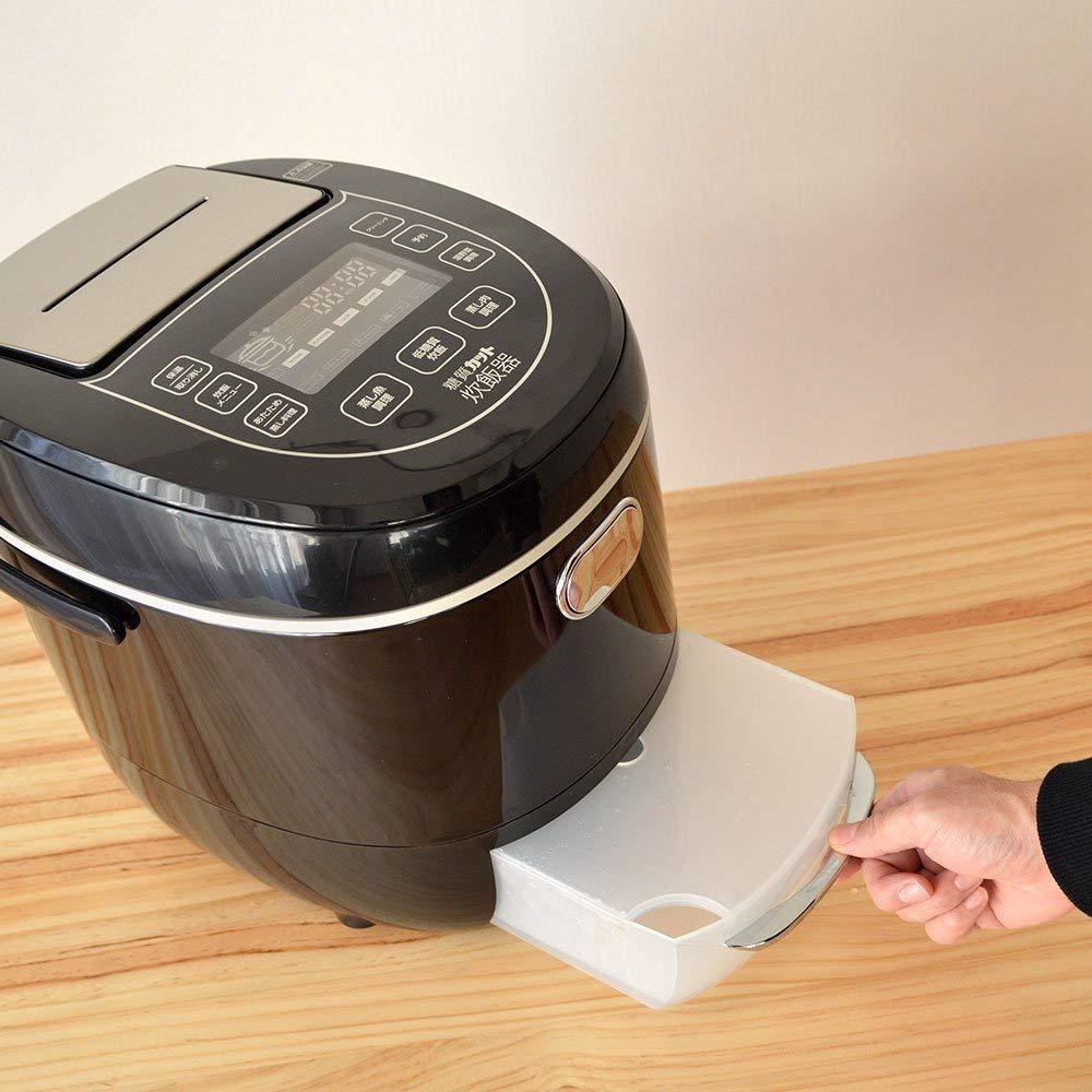 サンコー炊飯ジャー糖質カット炊飯器6合LCARBRCK