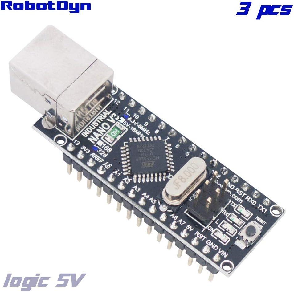 Arduino Nano V3.0 ATmega328P  16 MHz RobotDyn Branded