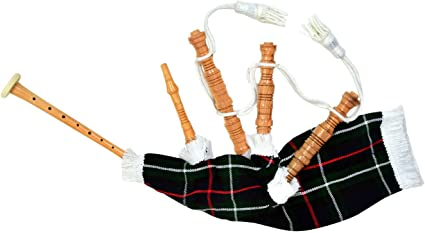 Kids Playable Bagpipe//Junior Playable Bagpipes//Child Toy Bagpipe Various Tartans