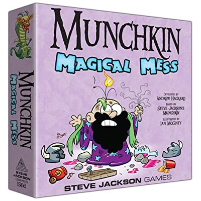 Munchkin Magical Mess Game: Toys & Games