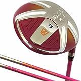 Japan Wazaki WL-IIs Lady Mx Steel Fairway Wood USGA PGA Golf Club +Leather Cover
