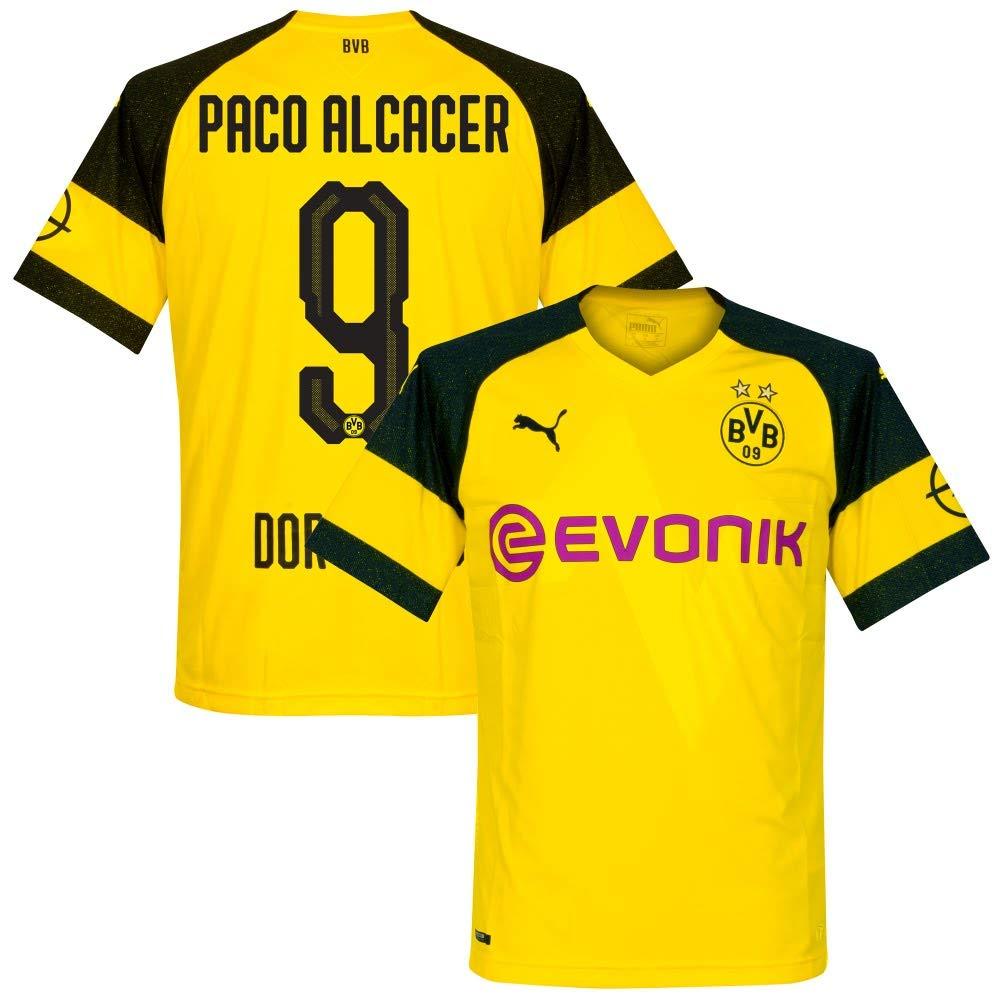 Borussia Dortmund Home Trikot 2018 2019 + Paco Alcacer 9