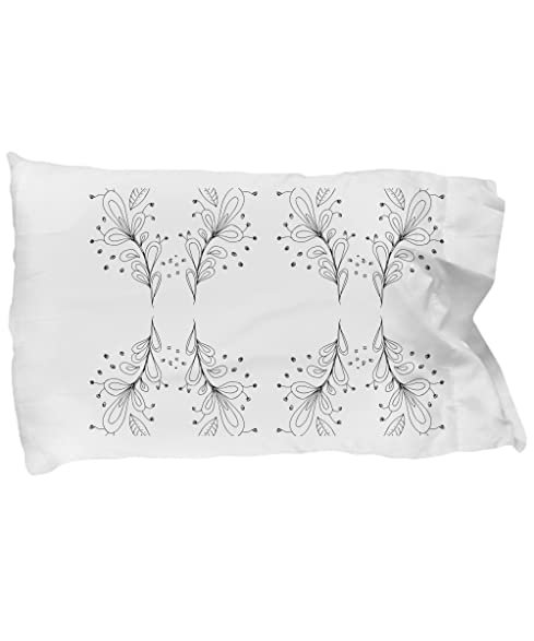 Amazon.com: DIY adult coloring. Pillowcases with delicate and ...