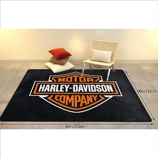 Amazon.com: Harley Davidson - Alfombra de interior ...