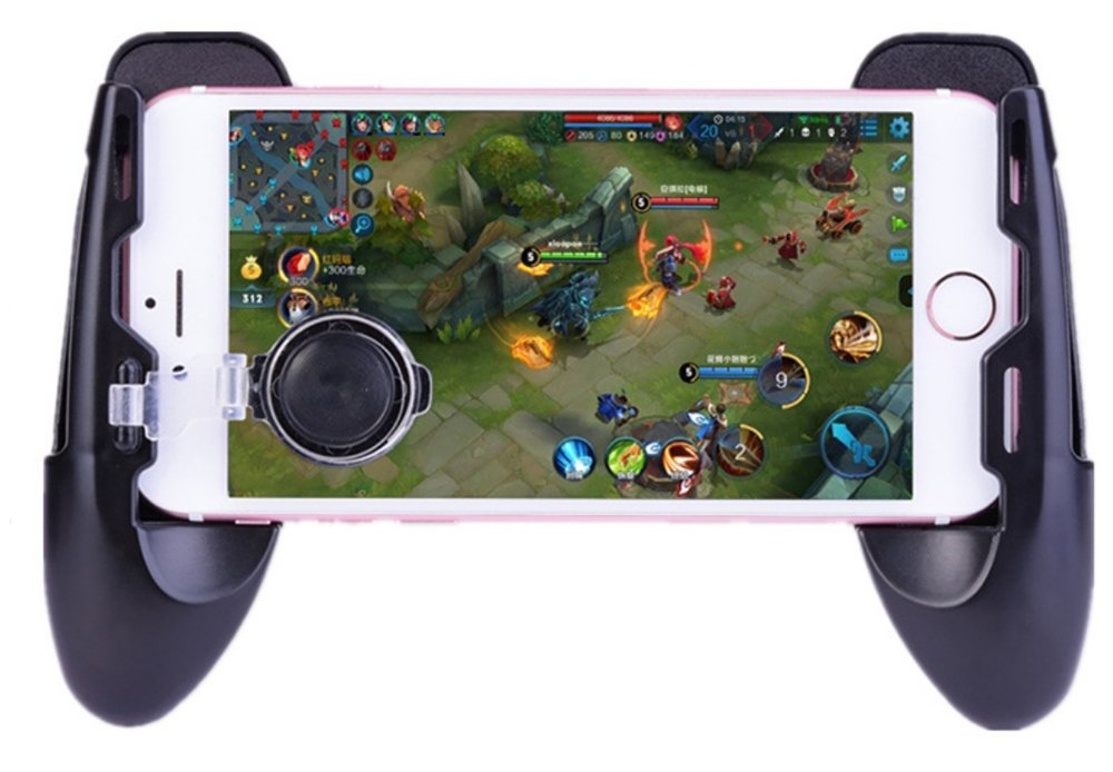 Mobile Game Controller and Gamepad, Sensitive Shoot and Aim Trigger Fire Button, Gamepad for Fortnite/PUGB / Rules of Survival, Mobile Gaming Joysticks for Android IOS by Fitoplay (Image #7)