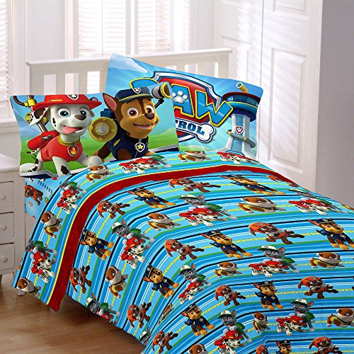 nickelodeon-paw-patrol-kids-4-piece-full-size-sheet-set-made-of-100-polyester