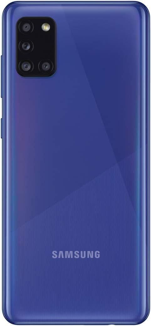 Samsung Galaxy A31 SM-A315G/DS 4G LTE GSM (AT&T Tmobile Metro Cricket Latin Caribbean Europe) Quad Camera International Version 4GB Ram (Blue, 64GB)