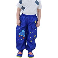 GagibitBest Kids Raincoat XL, Age for 8-11 EVA Baby Rain Jacket Impermeabile con Cappuccio Divertente Leggero per Ragazzi o Ragazze