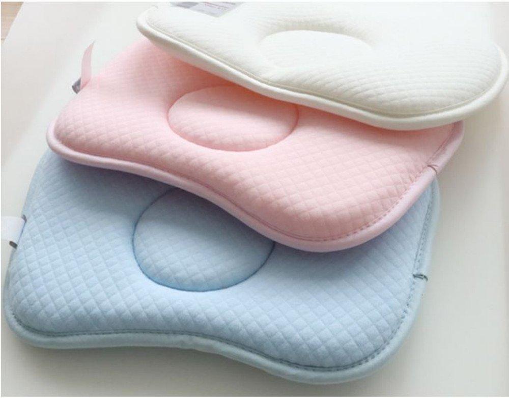 28 x 20 x 2 cm blue almohada bebe cuna Tokkids almohada bebe recien nacido anti /ácaros y antibacterianos respirable