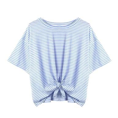 Küche Einkaufskörbe & -taschen LeeY Damen Beiläufig Shirt Hemden Drucken Tops Bluse Reizvolle Oberteile Kurzarm T-Shirt Lose Hemd Blusen Mode Frauen Blusenshirt Sommerbluse