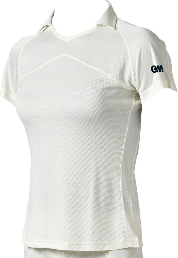 Onlyglobal Gunn /& Moore GM Cricket Clothing ST30 Womens Modern Quick Dry Shirt 2018
