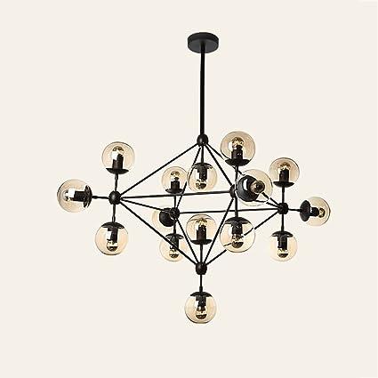Amazon.com: Cgjdzmd Ceiling Pendant Lights Postmodern Simple Glass ...