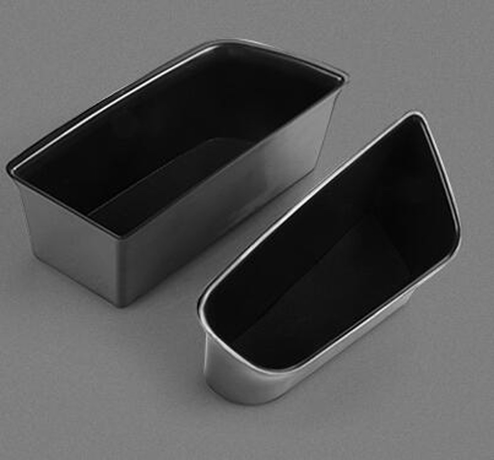 Salusy Car Center Console Armrest Box Glove Box Secondary Storage Tray Compatible with Audi A4 Sedan 2017