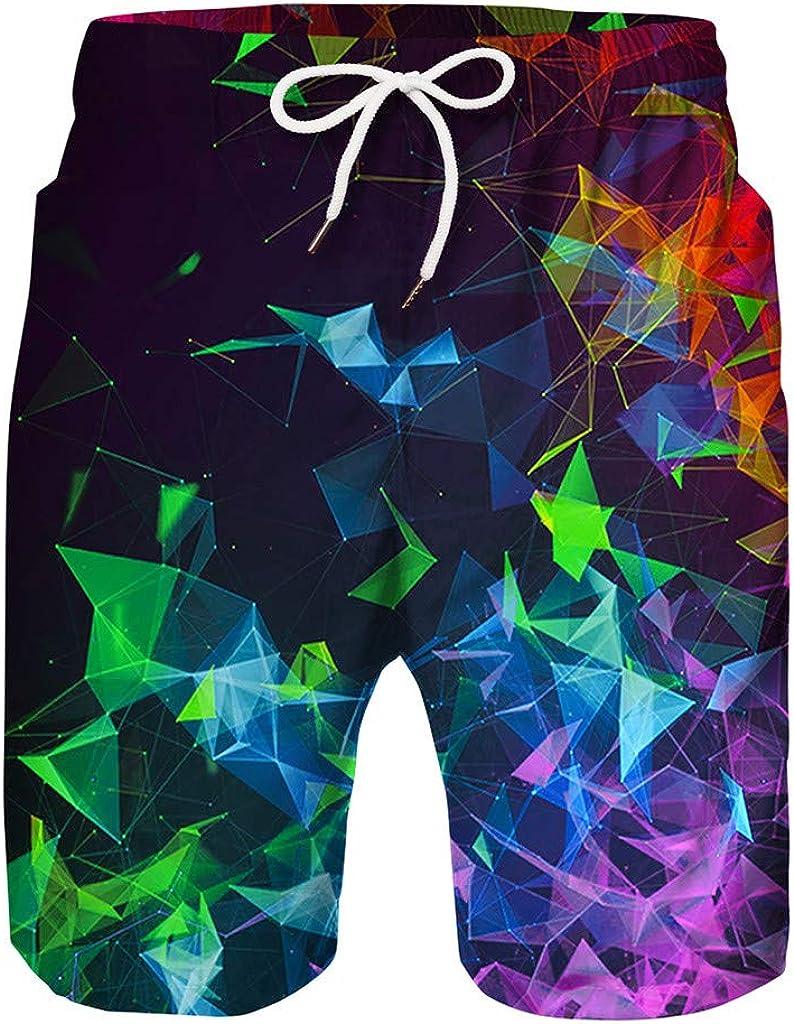 3D Printed Funny Swim Trunks Quick-Dry Beachwear Sports Running Swim Board Shorts Shenye Swimming Trunks Boys 7-14Years