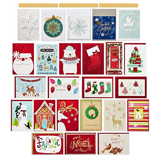 Hallmark Boxed Handmade Christmas Card Assortment (24 Cards and Envelopes) Photo #13