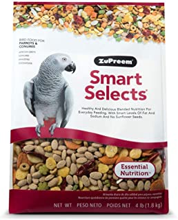 product image for ZuPreem Smart Selects Daily Bird Food for Parrots & Conures (2 Pack of 4 lb)