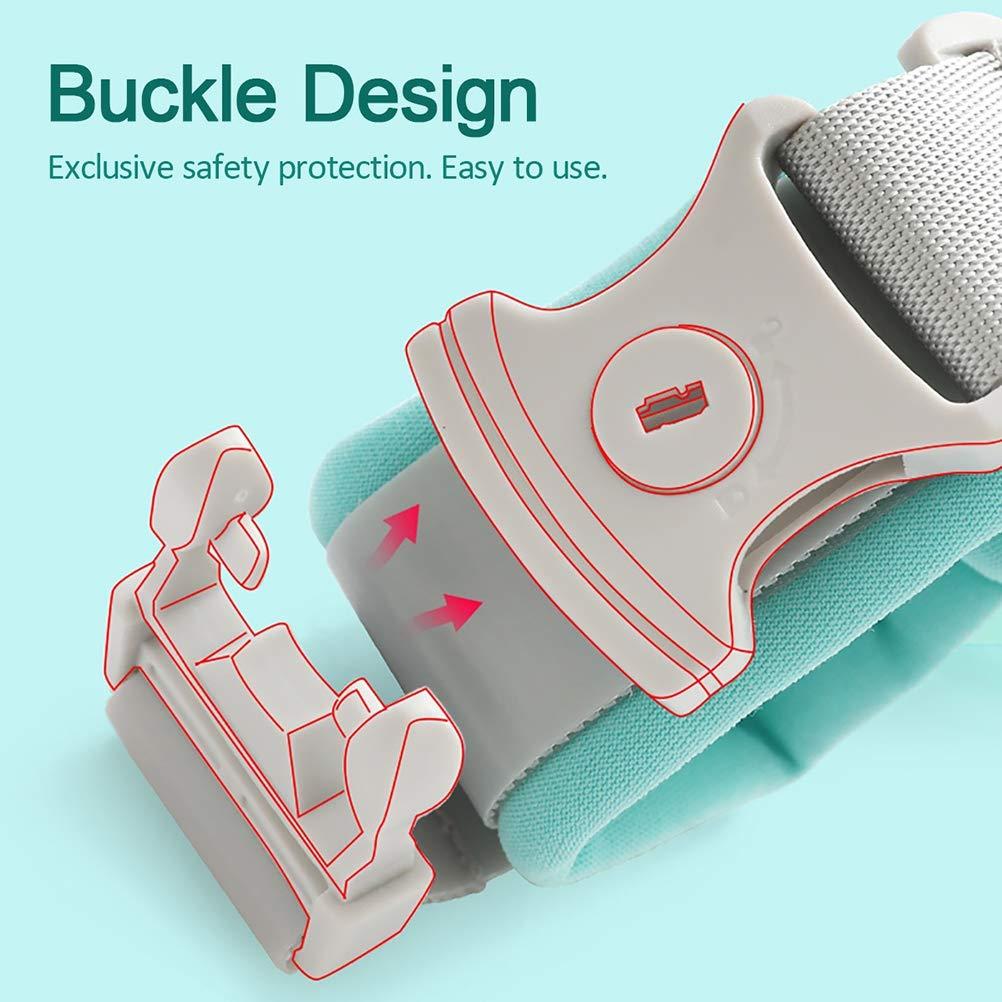 pulsera de seguridad para ni/ños Leikance arn/és y correas para caminar verde verde Talla:150 Mu/ñequera antip/érdida