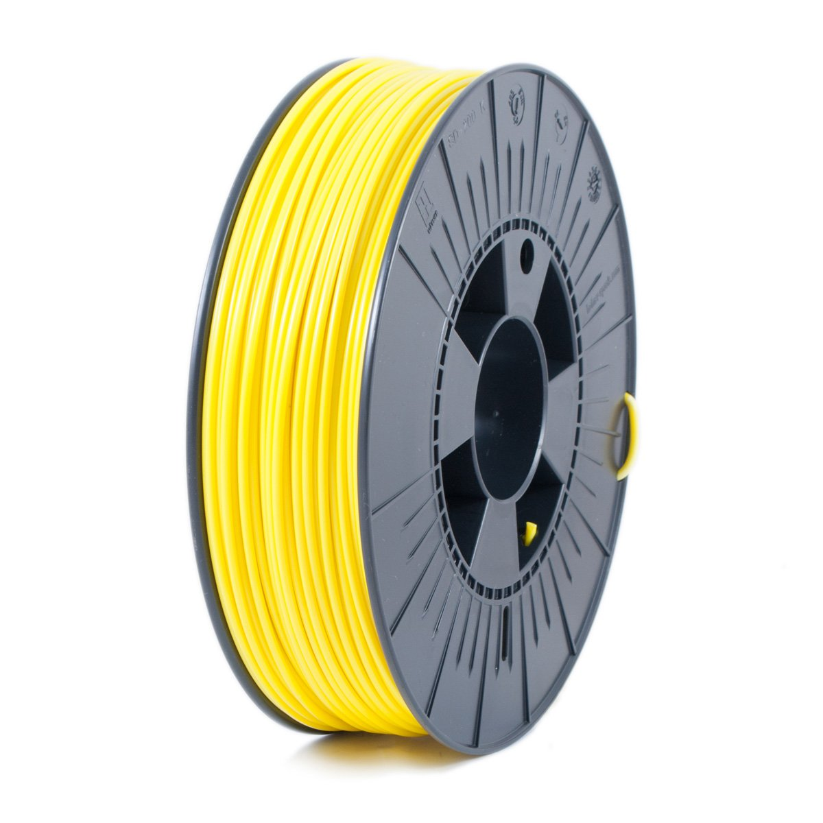 Ice Filaments ICEFIL3ABS102 Filamento ABS, 2,85 mm, 0,75 kg, Amarillo Claro