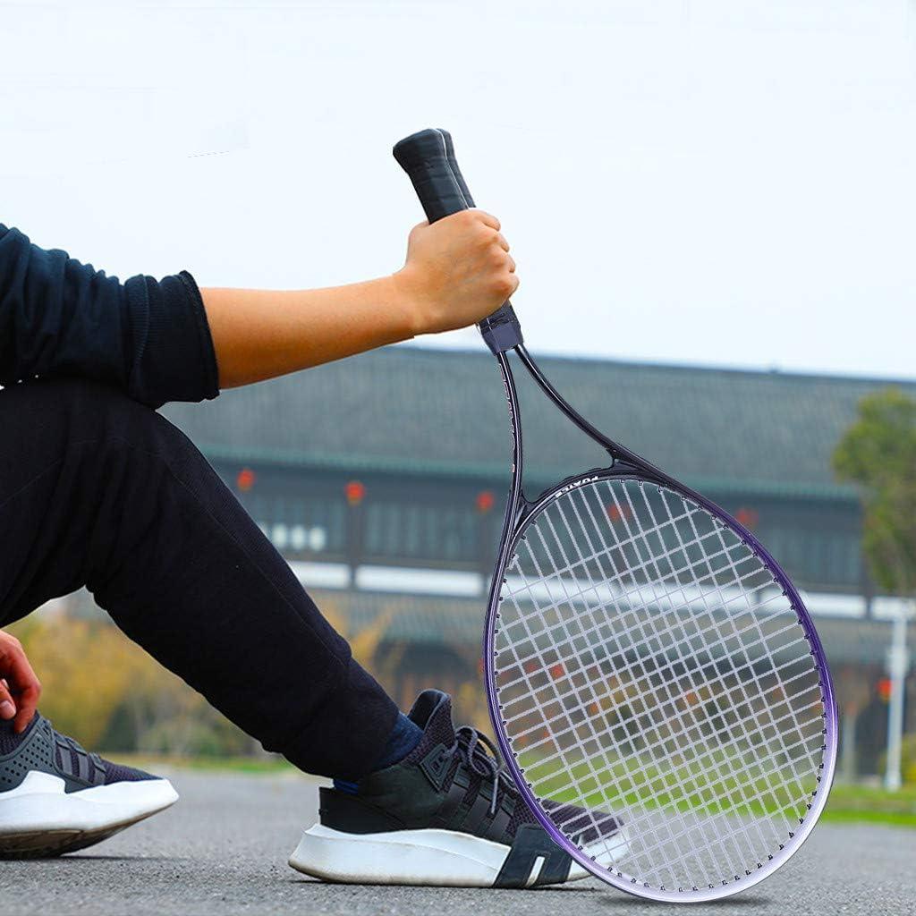 Adult Sports Tennis Racquet Dasuy Carbon Fiber Team Tennis Racket Super Light Weight Tennis Racquets Shock-Proof and Throw-Proof,Include Tennis Bag