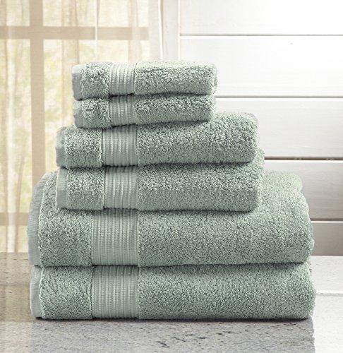 Great Bay Home 6-Piece Bath Towel Set. Includes Bath Towels,