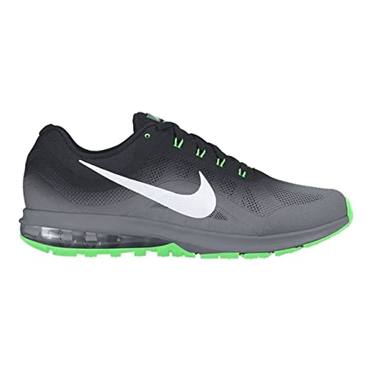 Nike Men's Air Max Dynasty 2 Running Shoe Black/White/Grey/Electro Green