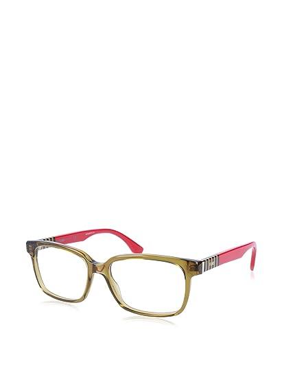ca808d3190 Amazon.com  Fendi Designer Eyeglasses FF0056-MQZ in Olive 53mm DEMO ...