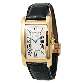 6e9f6cbf633 Cartier Tank Americaine Mechanical-Hand-Wind Male Watch 1735 (Certified  Pre-Owned