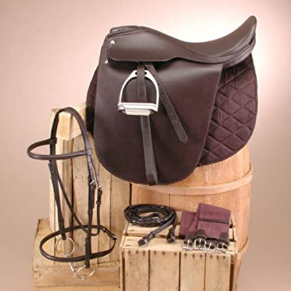 Intrepid International NEW Lane Fox Cutback Saddleseat Quilted Saddle Pad