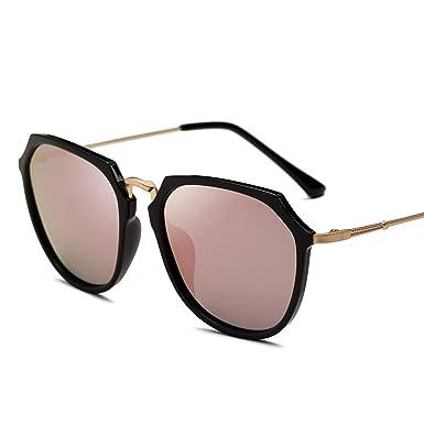 964bcbbcea1 HCIUUI 2018 new large frame sunglasses female tide drive driver round face  polarized sunglasses female Korean